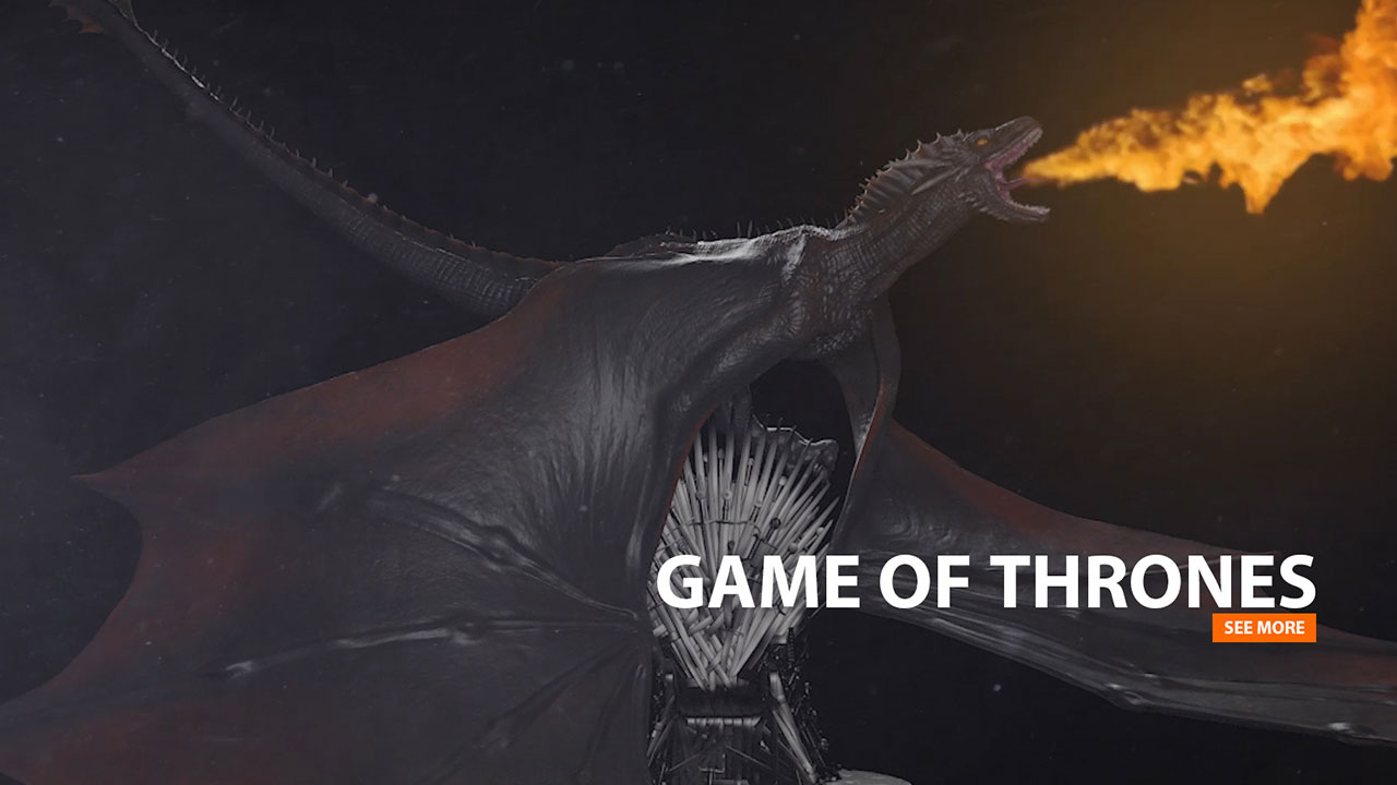 SKY GAME OF THRONES | Creature Animation