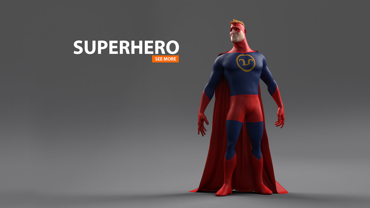 SUPERHERO // RnD | 3D Character Animation