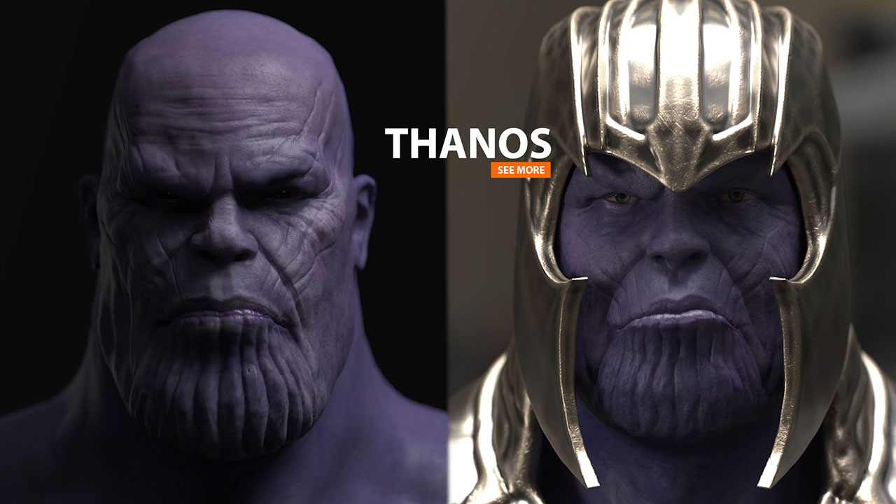 THANOS Marvel | Facial Animation